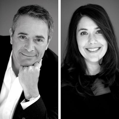 Laurent Moreuil et Stéphanie Ropars