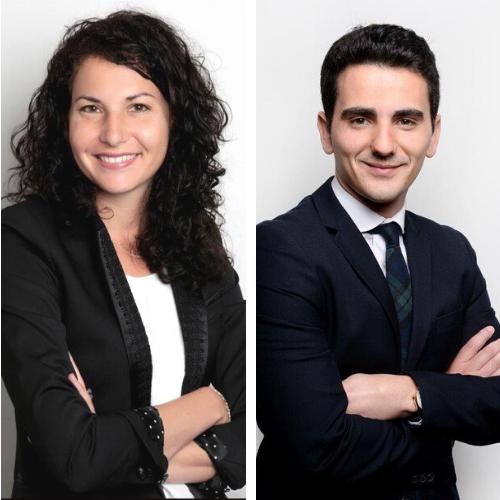 Déborah Fallik et Anthony Botella