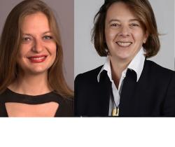 Marie Ballenghien et Caroline Dirat